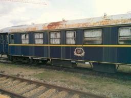 Historischer Personenreisezugwagen der Compagnie Internationale des Wagons-Lits
