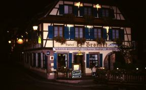 "Hotel ""Le Brochet ""in Barr Elsass."