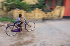 The bike is little bit big..., but its not a problem